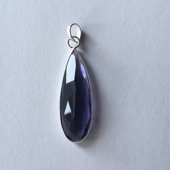 Jewelry - NWOT 925  Amethyst necklace pendant